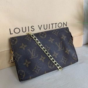 💯Authentic Louis Vuitton Pochette 15 Cosmetic Bag